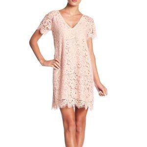 BB Dakota Trista Lace Shift Dress